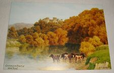 J Salmon Art Postcard - Goodrich Castle near Ross, by A R Quinton - Unused