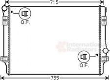 Kühler, Motorkühlung für Kühlung VAN WEZEL 58002336
