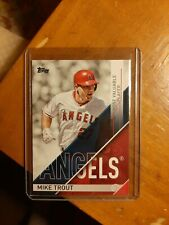 2017 TOPPS MLB AWARDS MOST VALUABLE PLAYER MIKE TROUT #MVP1 LOS ANGELES ANGELS