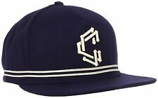 Crooks & Castles Dark Navy Men's Woven Adjustable Snapback Hat I1260800 NWT