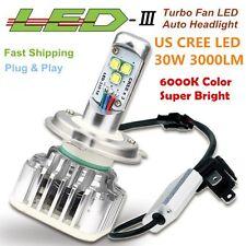NEW CREE LED LAMP 9006 H4 HB 9003 H7 H9 H11 9005 1PC 30W 6000K LM HEADLight-9006