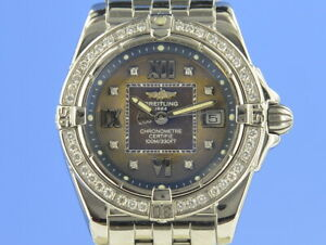 Breitling Galactic 32 Lady Diamant vom Uhrencenter Berlin 20592