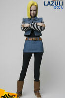 In-Stock WjlToys TY-007 1/6 Scale Dragonball Android 18 LAZULI 12in Figure