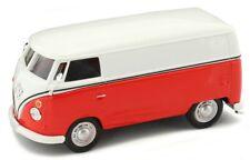 Volkswagen VW T1 Transporter Bianco/rosso 1 43 Cararama