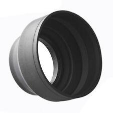 58mm 3 In 1 Rubber Lens Hood For sony nikon D3100 3200 D3300 G9V1