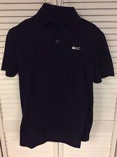 Black Clover Men's Golf Everyday Polo Shirt Black Tech Pique Cotton Medium M $65