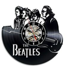 The Beatles Christmas Gift Wall Clock Design Vinyl Record / Home Decor Art