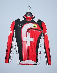 CASTELLI Mens Cycling Shirt National Suisse Swiss Jersey Size M