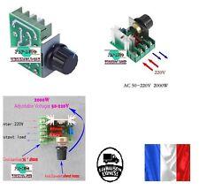 Régulateur de tension voltage contrôleur vitesse dimmer SCR 2000W AC 220V 2000W