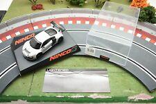 50555 NINCO 1/32 SLOT CARS AUDI R8 GT3 TEST CAR LIGHTENED SPORT