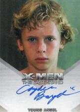 X-Men The Last Stand Autograph Card Cayden Boyd as Young Angel