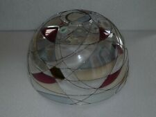 PartyLite Mosaic Stained Glass Candle Lamp Shade Only ~ Pre-Owned ~ No Box