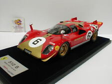 Look Smart LS18-08F -Ferrari 512 S No. 6 1000 KM Monza 1970 Georg Loos 1:18  NEU