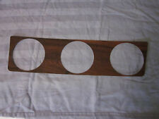 1972 cutlass 442 instrument cluster wood grain trim with aluminum backing