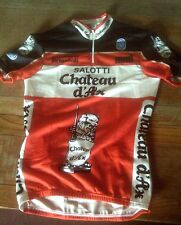 "NOS SEB SALOTTI Chateau d'Ax CYCLING JERSEY SIZE XL 40"" CHEST"