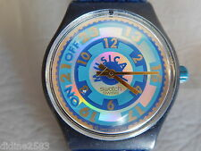 SWATCH MONTRE BRACELET GENT MUSICAL FEMME HOMME VARIATION SLN100 SLN101 WATCH