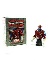 Bowen Designs Captain Britain Mini Bust 80s Version 603/1500 Marvel Sample New