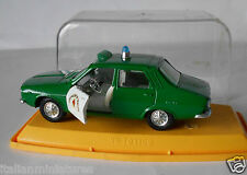 Renault 12 Agrupacion de Traffico Police Pilen Spain 1/43 Mint Condition in Case