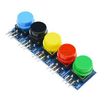 12x12mm Big Key Button Light Touch Switch 5 Colors Hat Output Module For Arduino