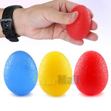 New listing Silicone Squeeze Egg Grip Ball Hand Finger Exercise Stress Relief Therapy Ball