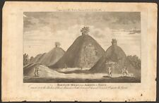 1779 ca ANTIQUE PRINT- ESSEX - BARTLOW HILLS NEAR ASHDOWN