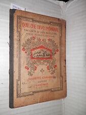 ESERCIZI DI LINGUA Maria C Mariani Carabba 1928 scuola manuale corso libro di