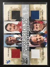 Evel Knieval Andretti Mansel Shoemaker 2007 Sportkings Quad Memorabilia 6/6