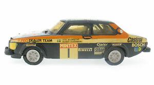 GPM Racing 8014 - Saab 99 Turbo CLARION HI-FI Mintex Rally - 1:43 Modellauto