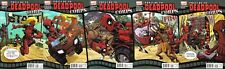 Prelude to Deadpool Corp  # 1,2,3,4,5 1st print Very Fine- N Mint Complete set