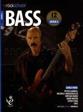 Rockschool Bass Guitar Grade 6 2018-2024 Tab Music Book/audio Songs Exercises