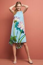 Photorealistic Silk Dress Size 14 NWT Favorite! Rare Retail $260