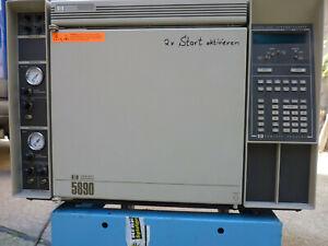 HP GC 5890 Gaschromatograph Chromatograph Hewlett- Packard