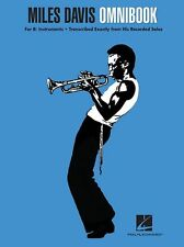 Miles Davis Omnibook Bb Flat Instruments PLAY Blues Clarinet Trumpet Music Book