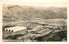 Ellis RPPC Postcard 2285; Weyerhauser Lumber/ Paper Mill, Lewiston ID Nez Perce