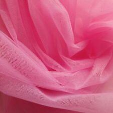 Tessuti e stoffe rosa in tulle per hobby creativi