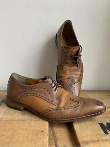 Men's Florsheim Brown Leather Dress Shoes, SIZE 11.5 US