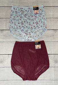 NWT 2 Bali Skimp Skamp Brief panties size L/7