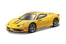 Ferrari 458 ESPECIAL Amarillo Escala 1:43 de Bburago