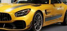 Mercedes-Benz OEM C190 AMG Gt 2018 + Grau Aufkleber Folie Set Kapuze Seiten Dach