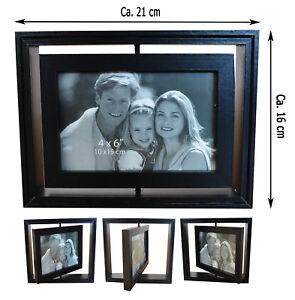 Biderrahmen Fotorahmen Holz Rahmen 10x15 cm Foto Frame Wood Shabby Chic Neu