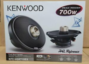 "Kenwood KFC-HQR710EX 7x10"" 700 Watt Ultra Hi-Performance Speakers Brand New"