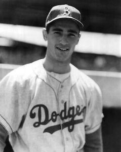 Brooklyn Dodgers SANDY KOUFAX Glossy 8x10 Photo Print Los Angeles Poster