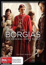 The Borgias : Season 1 (DVD, 2012, 3-Disc Set)