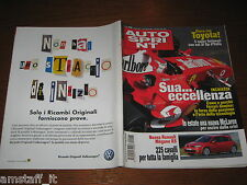 AUTOSPRINT 2004/15=RENAULT MEGANE RS=RALLY SOLA'=BMW SERIE 5 TOURING=