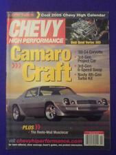 CHEVY HI PERFORMANCE - '69 C4 COVETTE - Feb 2005