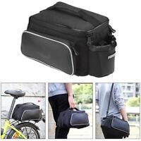 Multifunction Heavy Duty Electric Bike Rear Rack Saddle Bags  Ebike Bicycle Case