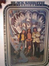 Black Sabbath 1970s Vintage Americana Rock & Roll Ozzy Iron On Transfer Nice B-2