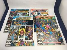 Crisis on Infinite Earths #9 - 12 DC Comics 1985 Justice League Superman Flash V