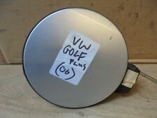 VW VOLKSWAGEN GOLF PLUS 2006 DIESEL FUEL CAP AND FLAP COVER SILVER 7A7W