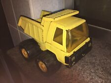 Yellow ( Buddy L ) Diecast Dumper Truck Vehicle Vintage, Made In Japan J36